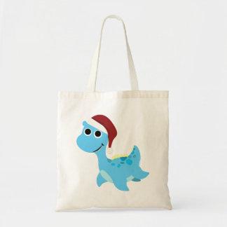 Santa Nessie Budget Tote Bag