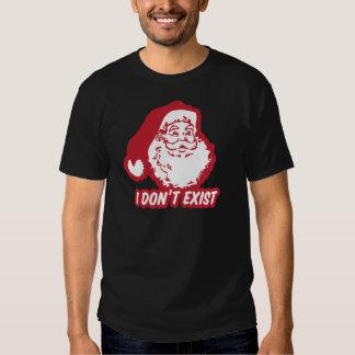 Santa no existe playera