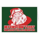 Santa no existe tarjetas