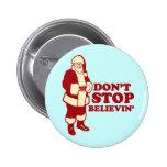 Santa, no para Believin Pins