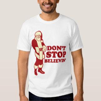 Santa, no para Believin Polera