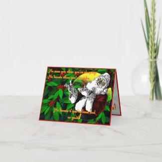 Santa! - Note Card card