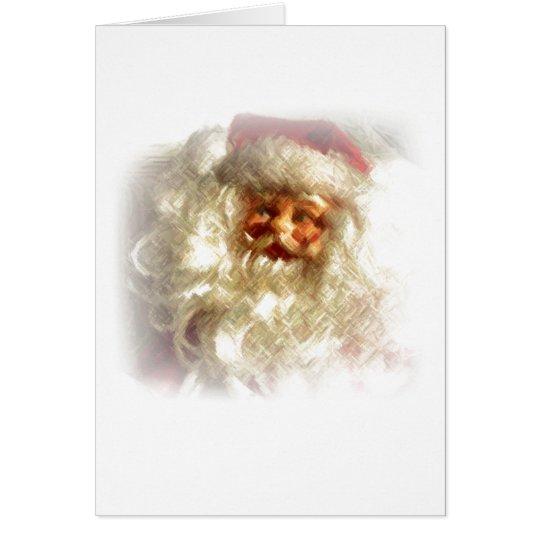 Santa Note Card