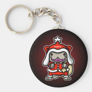 Santa Nyan Keychain