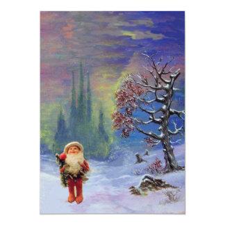 SANTA OF THE GNOMES, CHRISTMAS PARTY CARD