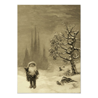 SANTA OF THE GNOMES, CHRISTMAS PARTY CARD