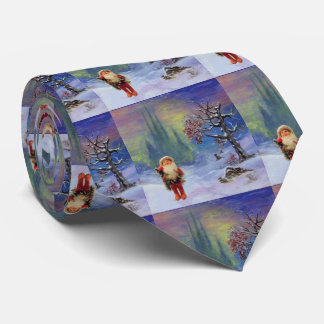 SANTA OF THE GNOMES NECK TIE