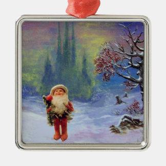 SANTA OF THE GNOMES CHRISTMAS ORNAMENT