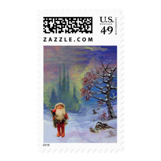 SANTA OF THE GNOMES POSTAGE
