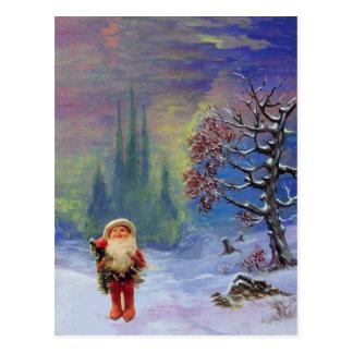 SANTA OF THE GNOMES POST CARD