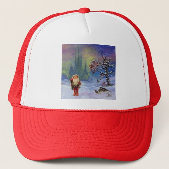 SANTA OF THE GNOMES TRUCKER HAT