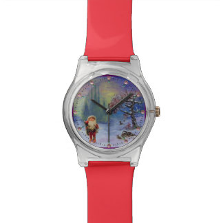SANTA OF THE GNOMS WRISTWATCH