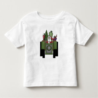 Santa On A Tractor t-shirt