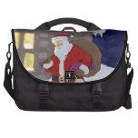 Santa on Christmas eve Commuter Bag