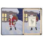 Santa on Christmas eve iPad Air Cases