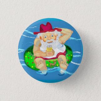 Santa on holidays button