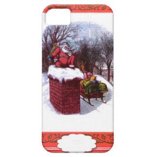 Santa on the chimney iPhone 5 case