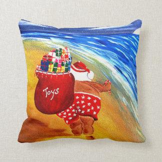 Santa On The Go Pillow