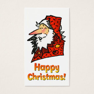 Santa or Father Christmas Business Card