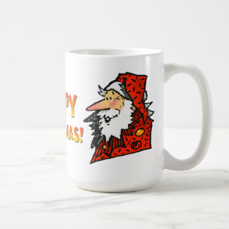 Santa or Father Christmas Classic White Coffee Mug