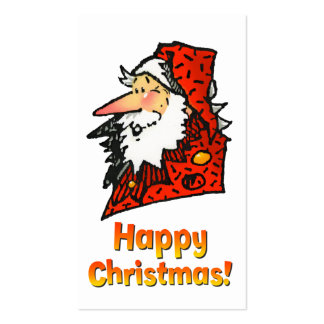 Santa or Father Christmas Double-Sided Standard Business Cards (Pack Of 100)