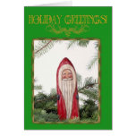 Santa Ornament Card