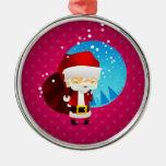 Santa Ornamento Para Arbol De Navidad