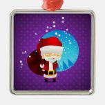 Santa Ornaments Para Arbol De Navidad