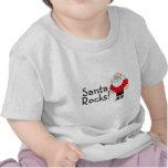 Santa oscila Santa Camisetas