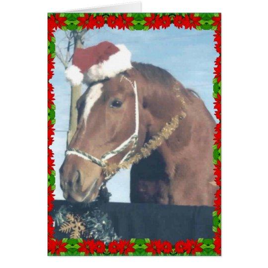 Santa Ouston Card