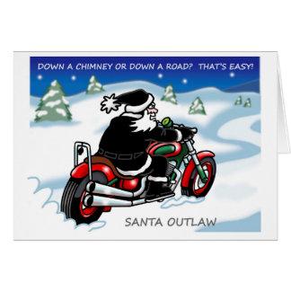 Santa Outlaw© Christmas Card