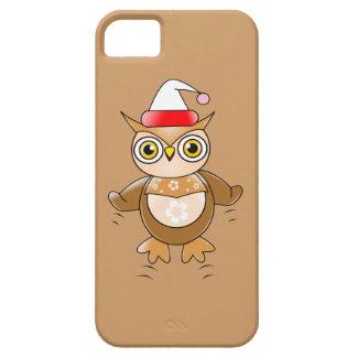 Santa Owl iPhone 5 Cover