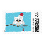 Santa Owl Postage