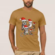 Santa Owls T-Shirt