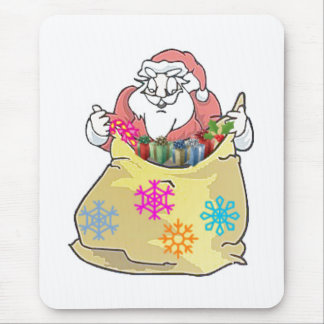 santa_pack mouse pad