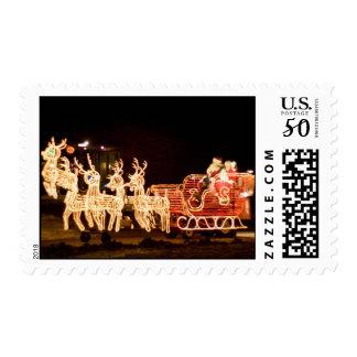 santa parade postage