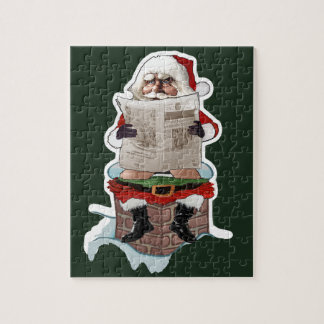 "Santa ""Party Pooper"" Christmas Puzzle"