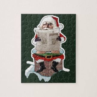 "Santa ""Party Pooper"" Christmas Puzzle"