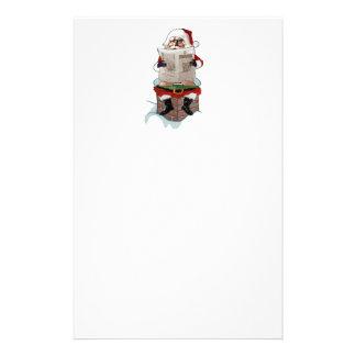Santa Party Pooper Funny Christmas Stationary Stationery