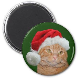 Santa Paws 2 Inch Round Magnet