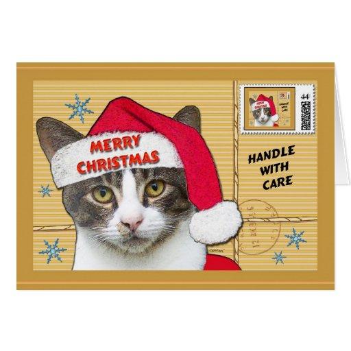 Santa Paws Card