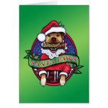 Santa Paws Cards