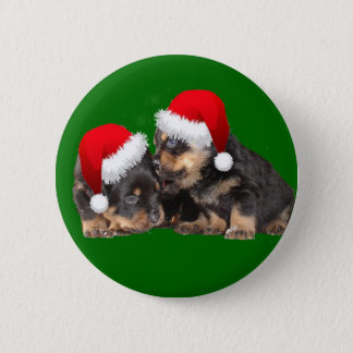 Santa Paws Is Coming to Town Pinback Button