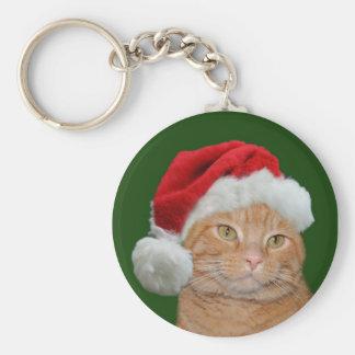Santa Paws Keychain