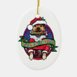 Santa Paws Ornaments