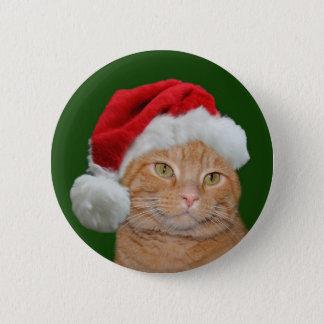 Santa Paws Pinback Button