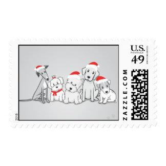 Santa Paws Postage