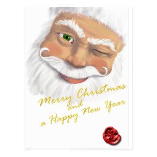 Santa - Pc V Postcard