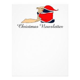 Santa Penguin Letterhead