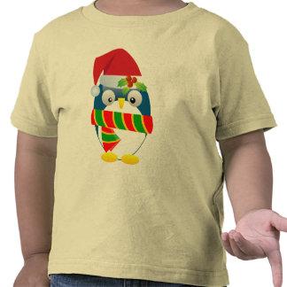 Santa Penguin Toddler T-shirt